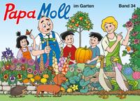 Papa Moll im Garten (Comic)